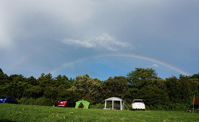 森のまきばオートキャンプ場レポ!開放感抜群だけど風が強すぎたw