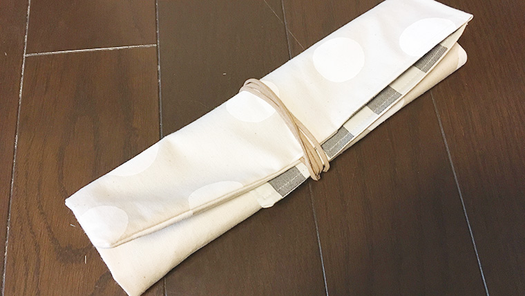 キャンプ用の包丁ケースを作ってみた!布製ロールタイプの作り方公開