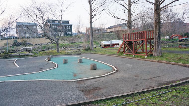 イレブンオートキャンプパークのラジコンコース