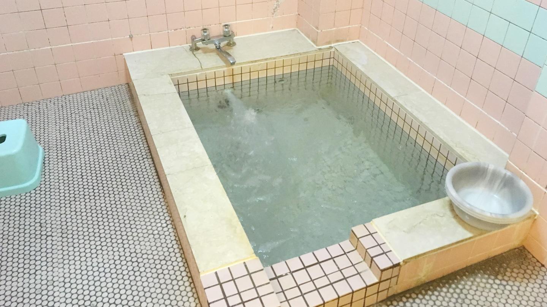 浩庵キャンプ場の設備(お風呂)