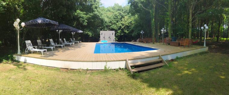 東京クラシックキャンプのプール